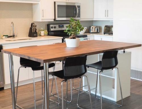 DIY Kitchen Island (IKEA Hack)