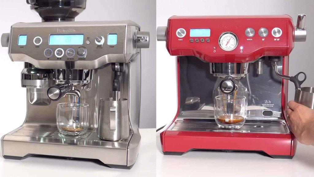 Breville Dual Boiler vs Oracle
