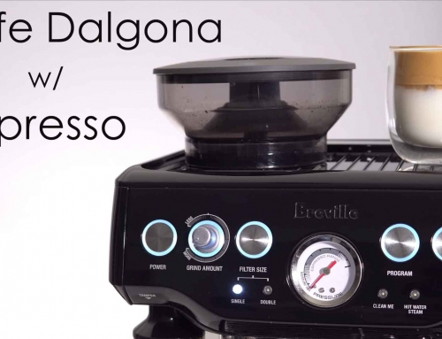 Cafe Dalgona With Espresso